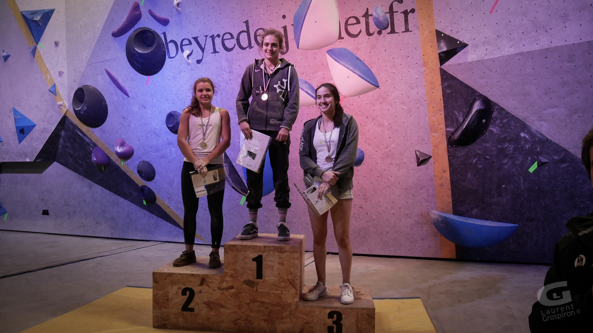 podium juniors femmes